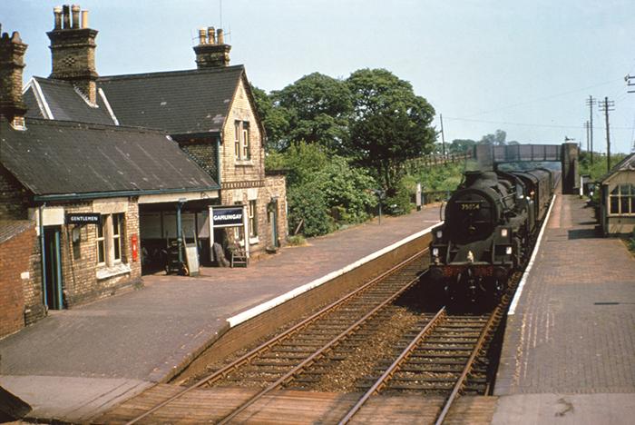 Railway Station Gamlingay Photos